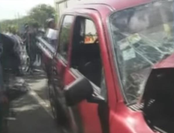 Video: Accidente fatal en la carretera SFM - Nagua