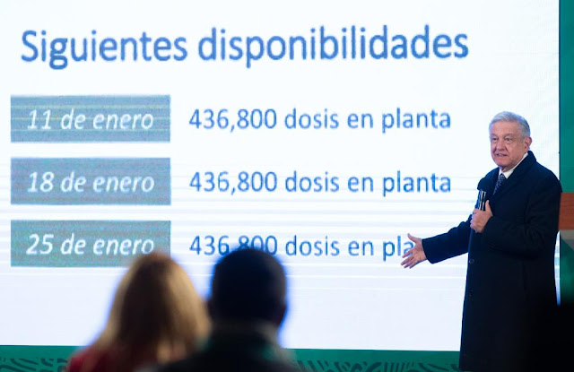 Se prepara despliegue de 10 mil brigadas para vacunar adultos mayores de todo el país: AMLO. Presidencia