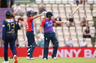 Dawid Malan 76 - England vs Sri Lanka 3rd T20I 2021 Highlights