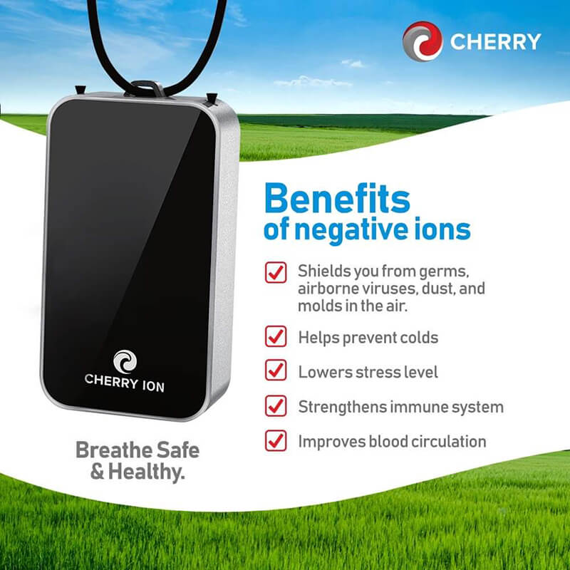 Cherry Ion Air Personal Purifier benefits