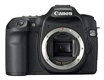 Canon EOS 40D DSLRダウンロードフルドライバー