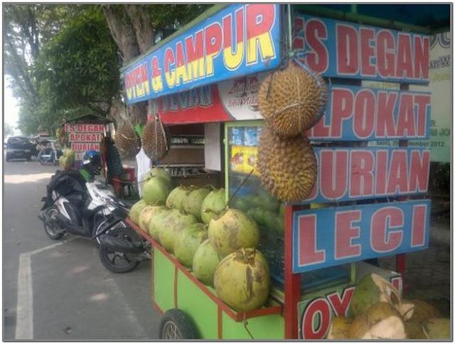 Es Degan Durian Leci;10 Top Kuliner Jombang