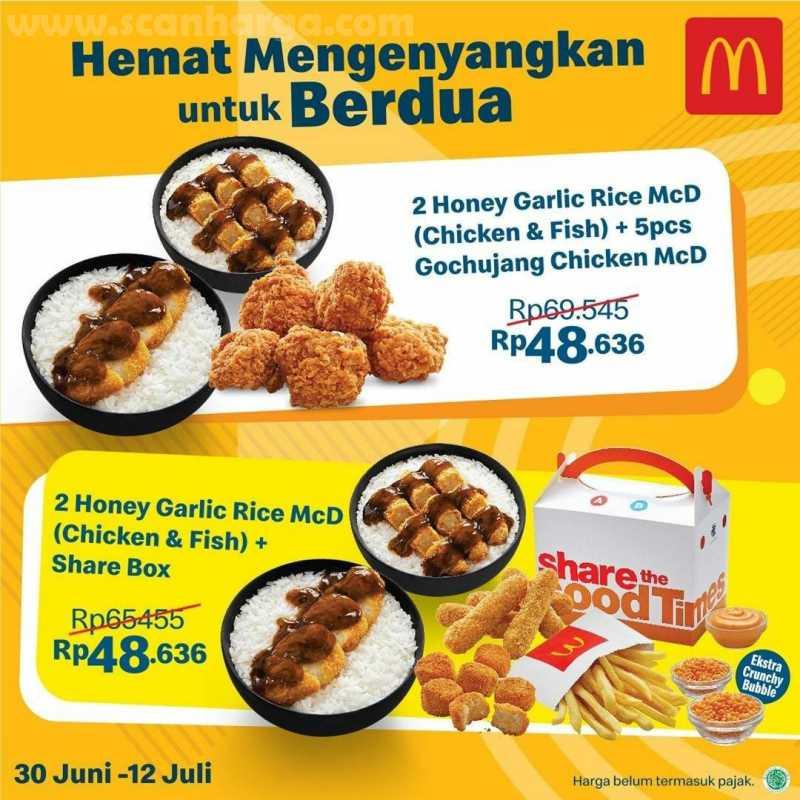 McDonalds Promo Paket Hemat Edisi Harga Spesial mulai dari Rp 27.727 2