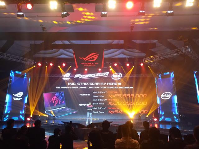 Gaming, Gamers, Laptop, ASUS, Republic of Gamers, Teknologi, Terbaru, Indonesia