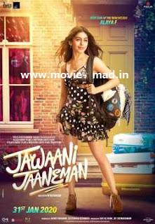 Jawaani Jaaneman (2020) full movie download Hindi 720p 480p Web Dl Mkv