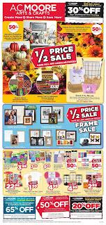 AC Moore Weekly Sales Ad September 15 - 21, 2019