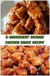 3 #Ingredient #Orange #Chicken #Sauce #Recipe #crockpotrecipes #chickenbreastrecipes #easychickenrecipes #souprecipes
