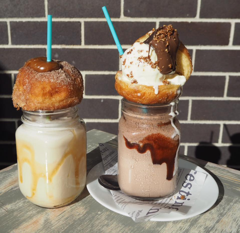 Nutella ball freakshake in Sydney