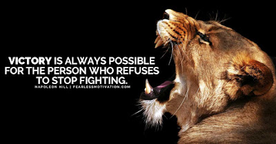 Excellence Lion Quotes