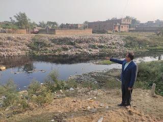 Patna  केंद्रीय प्रदूषण नियंत्रण बोर्ड ने दिया सरिसवा नदी के पानी की तत्काल जांच का आदेश