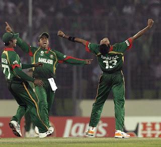 Shafiul Islam 4-21 - Bangladesh vs Ireland 9th Match ICC Cricket World Cup 2011 Highlights