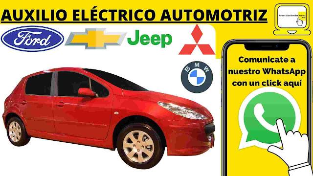 auxilio eléctrico mecánico La Paz