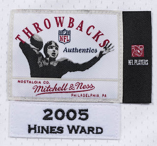 Mitchell & Ness NFL Throwbacks Collection logo