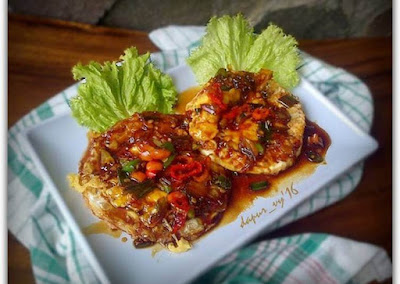 Resep Telur Ceplok Siram Tumis Kecap, Cocok untuk Menu Sahur Praktis