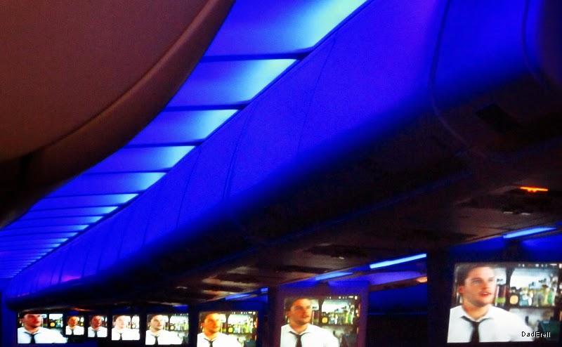Ecrans vidéo dans un Airbus A310