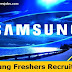 Samsung Job Openings For BE,B.Tech Freshers As Software Engineer.