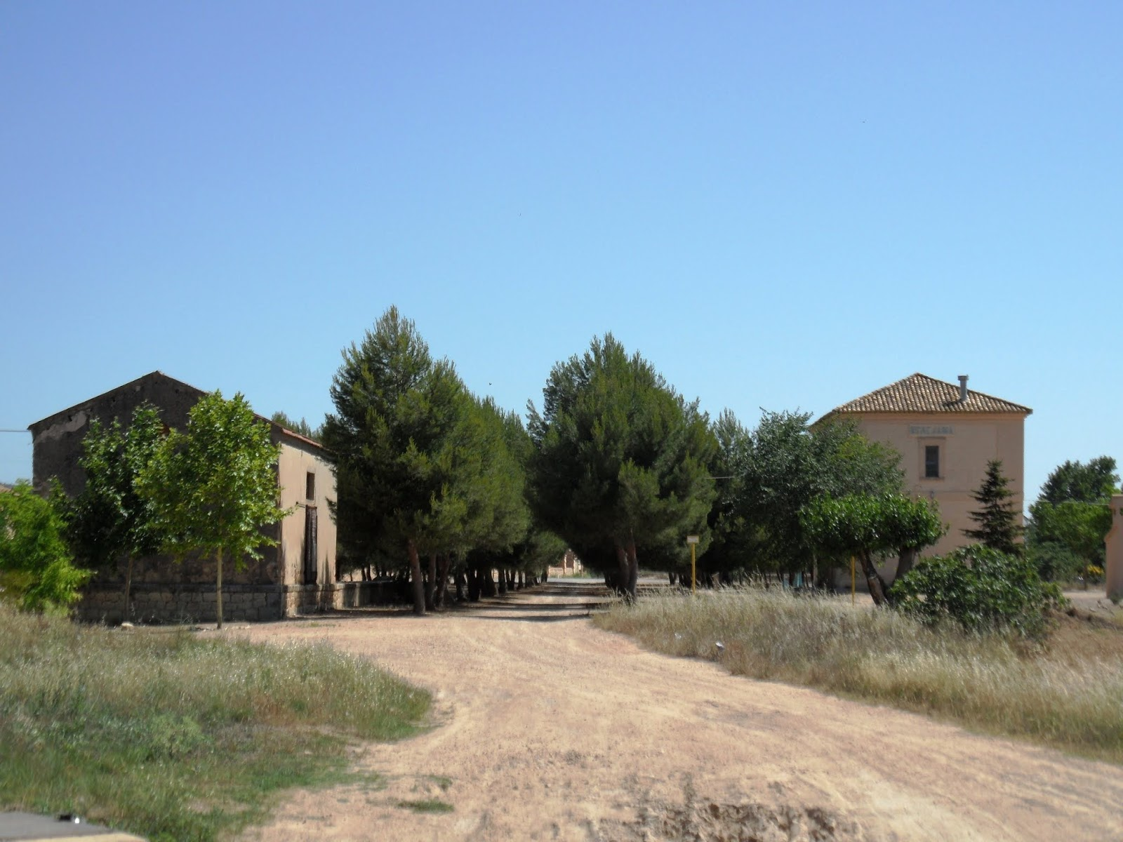 Old station of Benejama on Xixarra Greenway, Spain