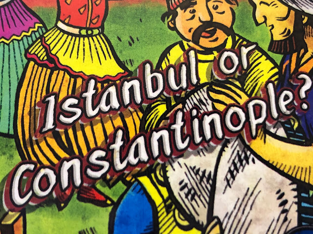 Istanbul or Constantinople? by Concrete Canoe Games