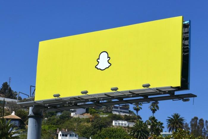 Snapchat 2019 billboard