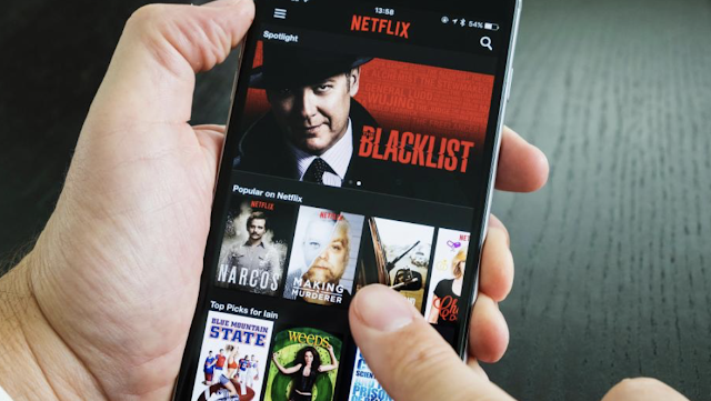 NETFLIX AND STILL Viewers will soon be able to change programme with just a stare thanks to new Netflix invention: Netflix has invented a way for its users to change what they are watching by staring at their screen and sticking out their tongue