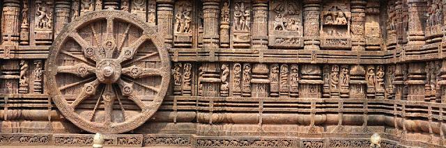 Konark Surya mandir, Konark, Odisha