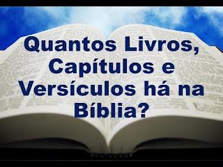 quantos capítulos tem a bíblia sagrada
