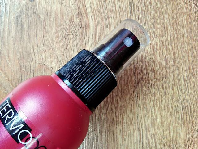 Marion, Termoochrona - Mgiełka chroniąca włosy przed działaniem wysokiej temperatury, zamknięcie opakowania