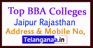 Top BBA Colleges in Jaipur Rajasthan