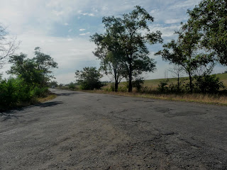 Клебан-Бык. Дорога на Щербиновку