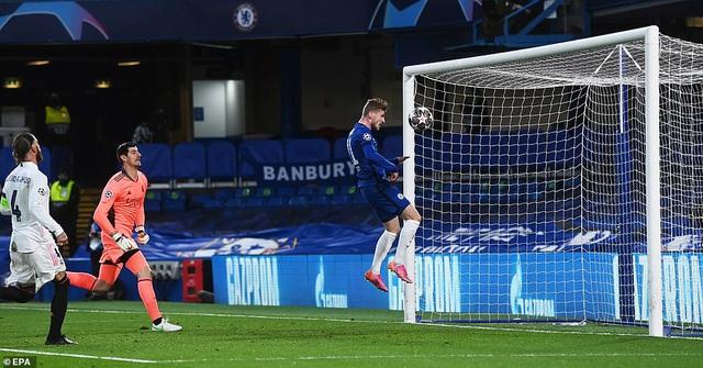 Timo Werner mở tỷ số cho Chelsea ở phút 28