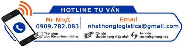 hotline báo giá chuyển hàng đi Hà Nam