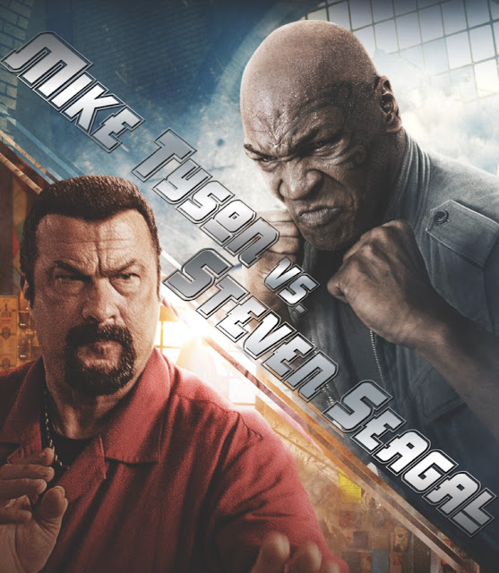 Mike Tyson vs Steven Seagal  StrengthFighter.com