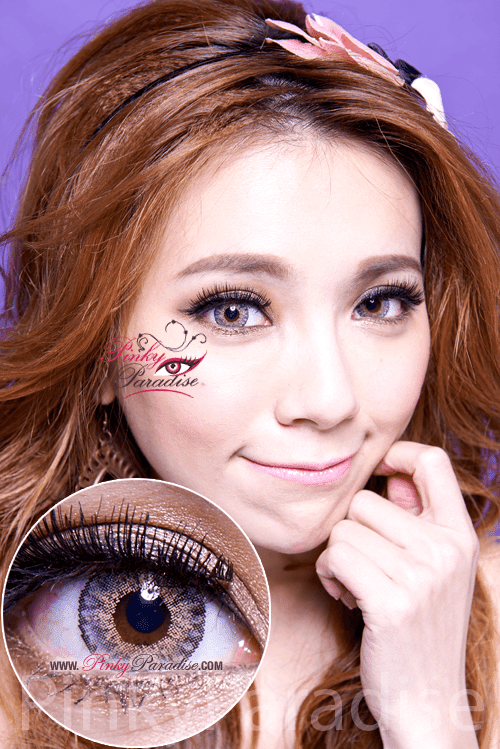 Vassen Sirius Grey Circle Lenses (Colored Contacts)