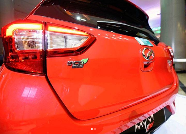 Foto Terkini Perodua Myvi 2018