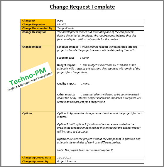 4 Change Management Templates - Free Project Management Templates