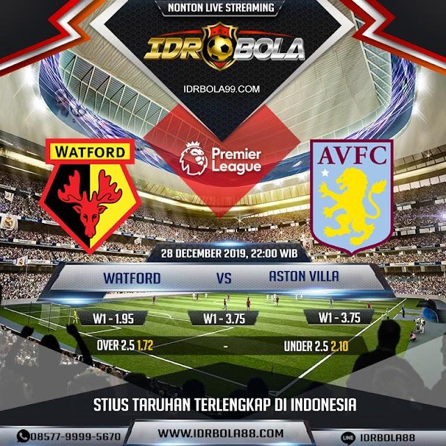 IDRBOLA - Prediksi Bola Watford vs Aston Villa 28 Desember 2019