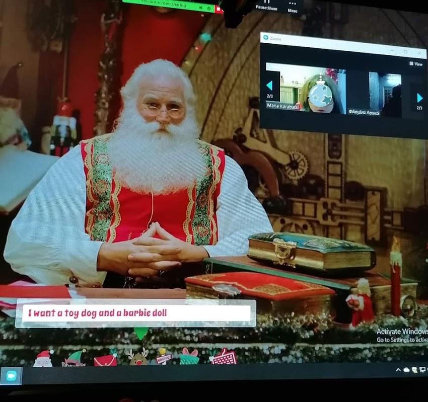 Santa Claus paid us a visit!