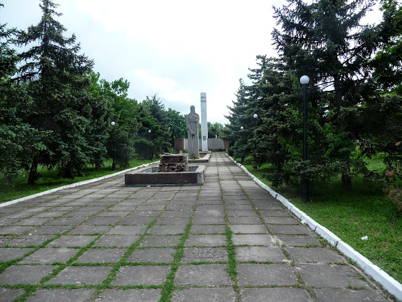 Генічеськ. Парк і військовий меморіал