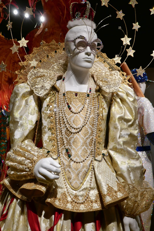 Rocketman Queen Elizabeth I costume