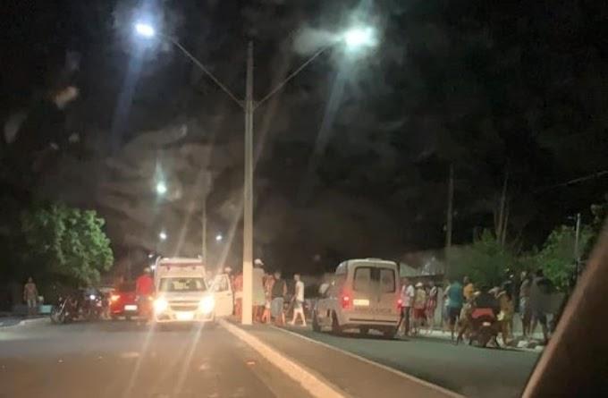 Barrocas: Motociclista que trafegava pela contra mão fica ferido após colisão no trecho da BA-411 em Santa Rosa