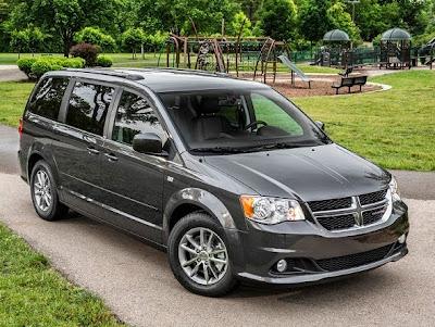 2015 Dodge Grand Caravan Front View Model