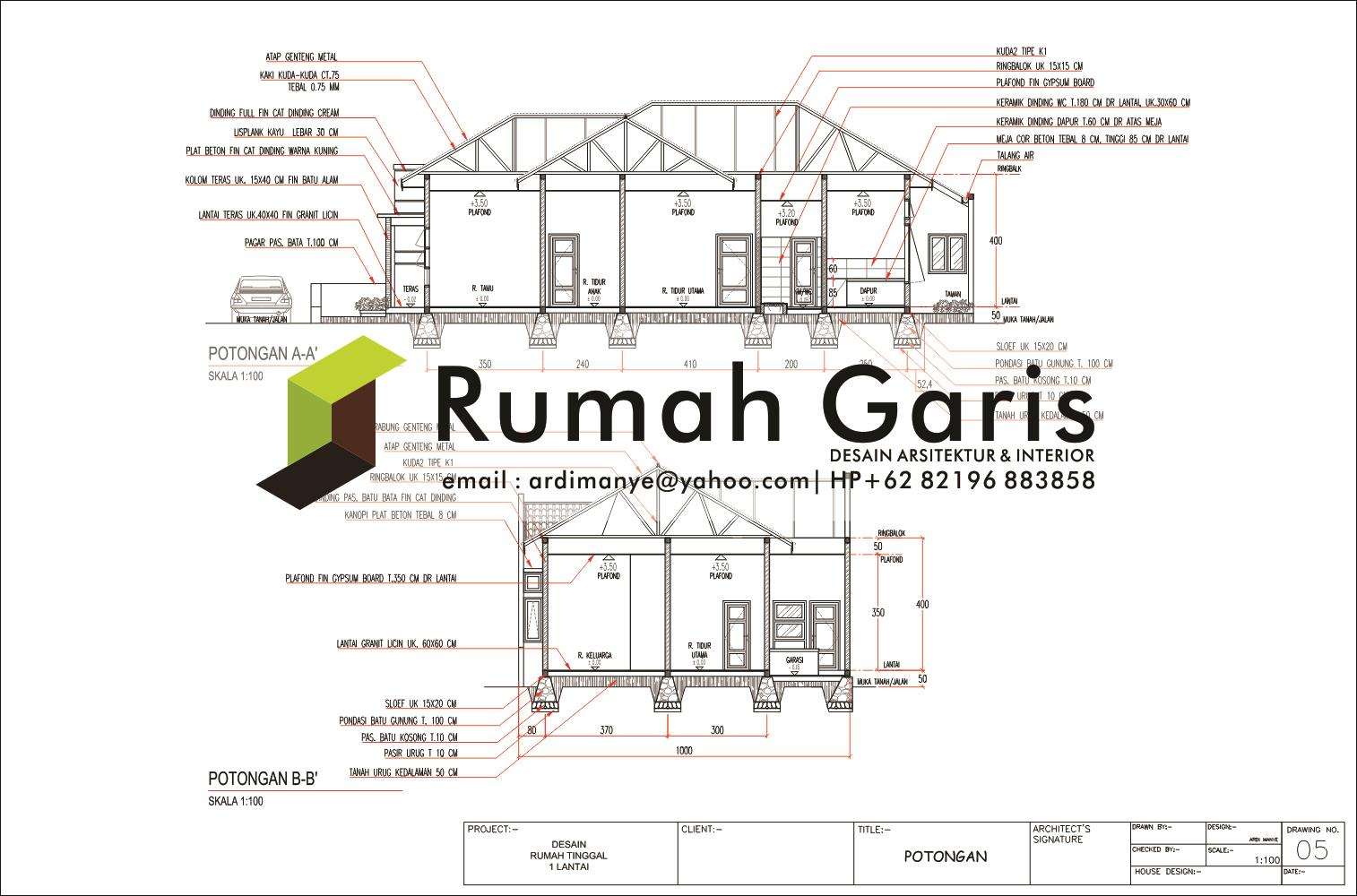 Image Result For Sketsa Bangunan Rumah Minimalis Modern