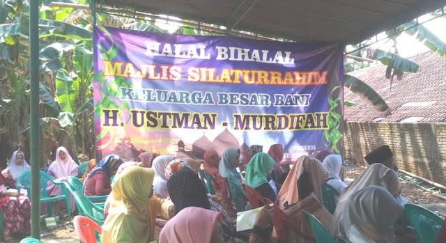 contoh beground acara halal bihalal keluarga