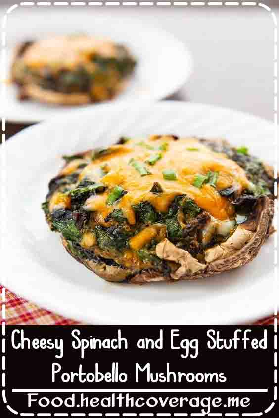 If you are a mushroom lover, these stuffed portobello mushrooms are going to change your world. Just take a look and tell me you aren't drooling, I dare you.