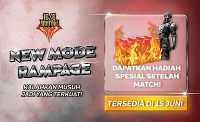 Kali ini kami akan membahas tentang game Free Fire Mode Rampage FF: Dapatkan Bundle Berserker di Event Idul Adha FF
