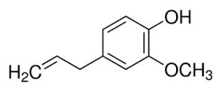 Rumus senyawa eugenol