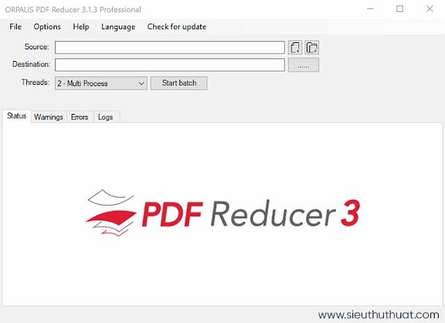 Orpalis PDF Reducer Pro 3.1.12 Repack - Nén dung lượng PDF