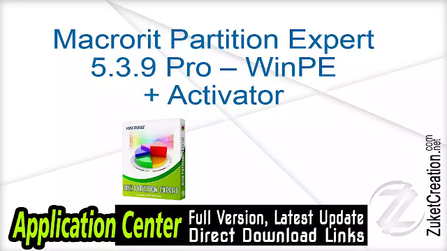 Macrorit Partition Expert 5.0.0 Unlimited + Serials