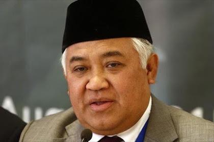 Din Syamsuddin: Selain HRS, Hormati Juga Ustadz Abdul Somad