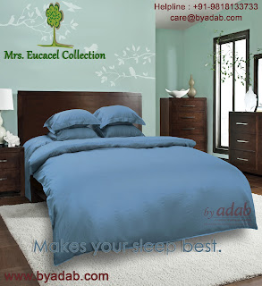 Introduce the brand fresh 400 / 600 Thread Per Inch green bedding set